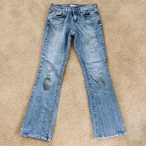 Levi's 518 Distressed Jeans